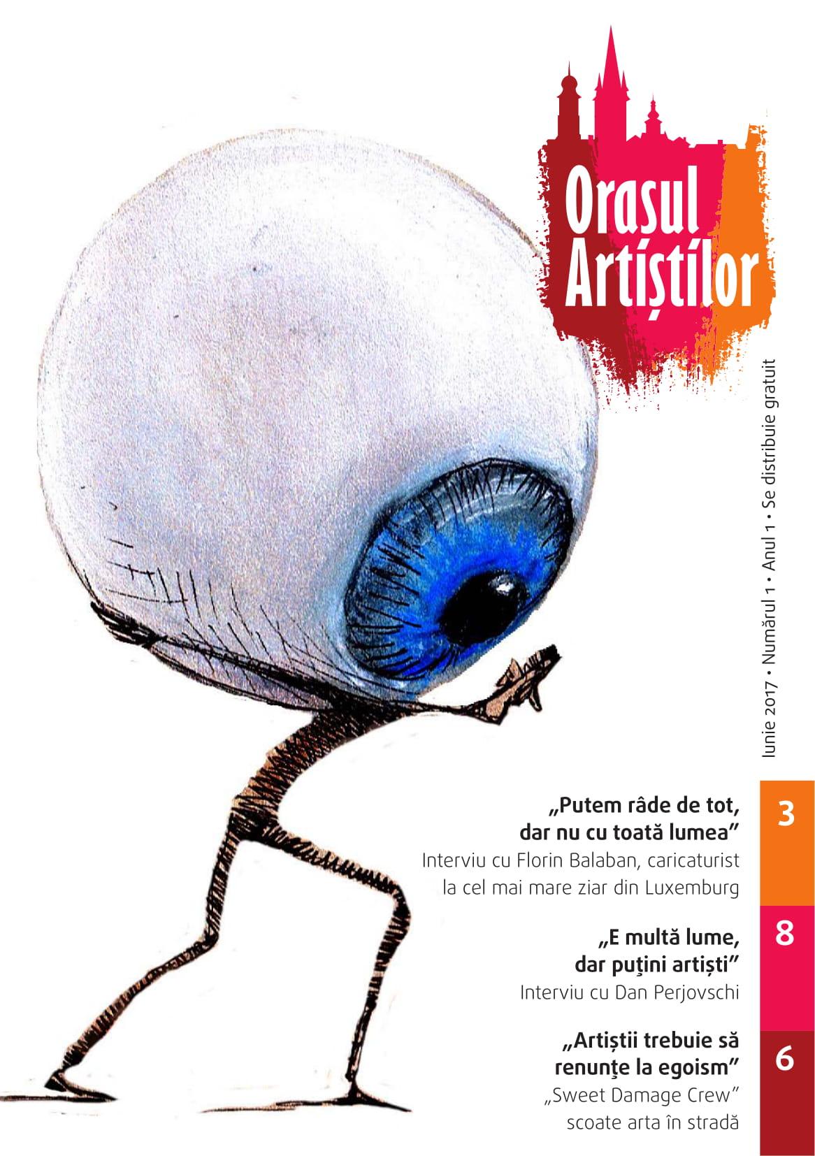 Revista Orașul Artiștilor nr. 1 (iulie 2017)