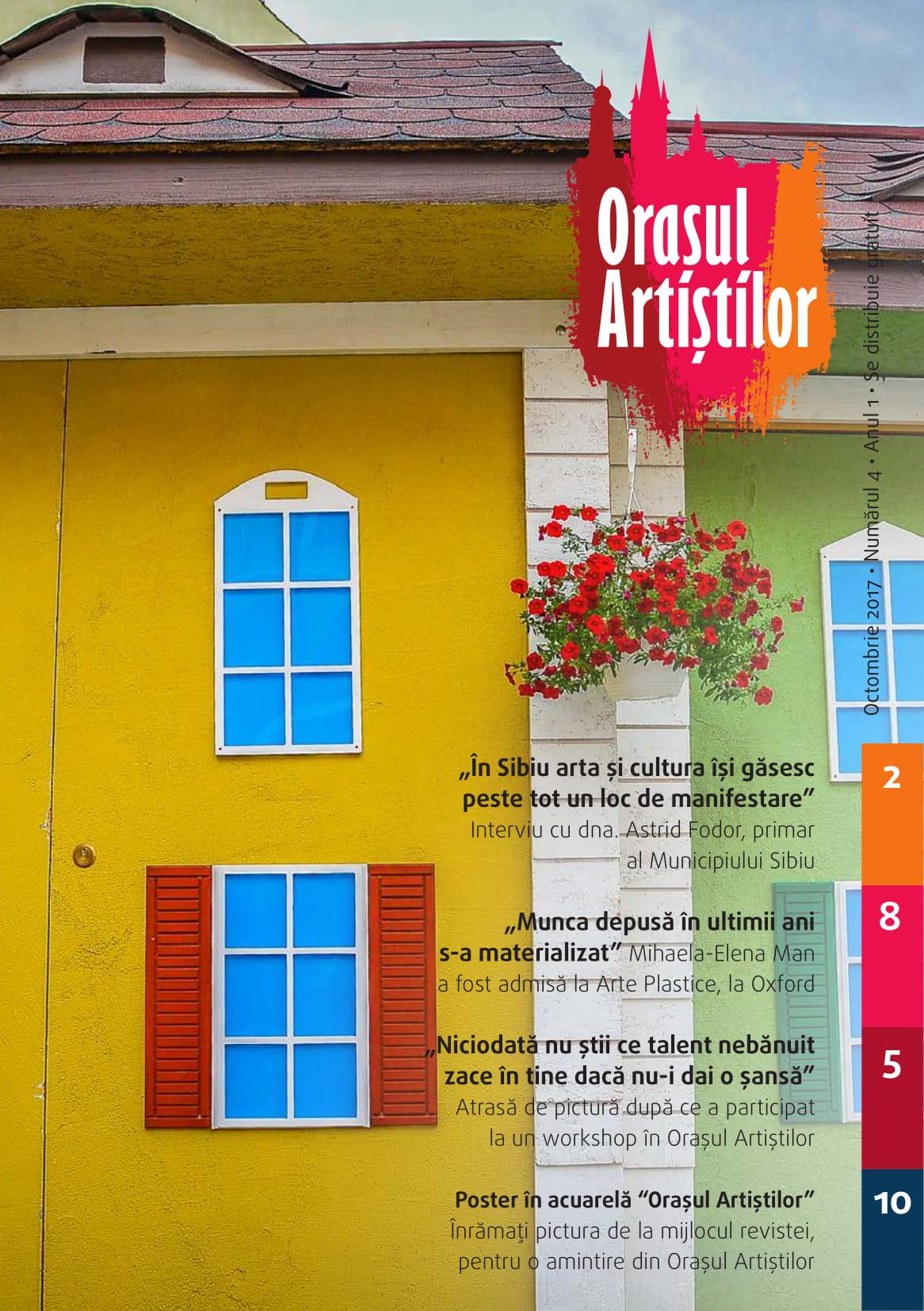 Revista Orașul Artiștilor nr. 4 (octombrie 2017)